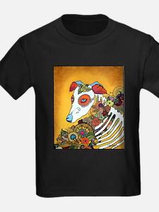 Dia Los Muertos, day of the dead, dog, T