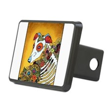 Dia Los Muertos, day of the dead, dog, Hitch Cover
