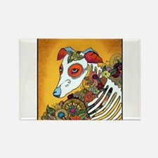 Dia Los Muertos, day of the dead, dog, Rectangle M