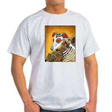 Dia Los Muertos, day of the dead, dog, T-Shirt