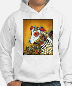 Dia Los Muertos, day of the dead, dog, Jumper Hoody