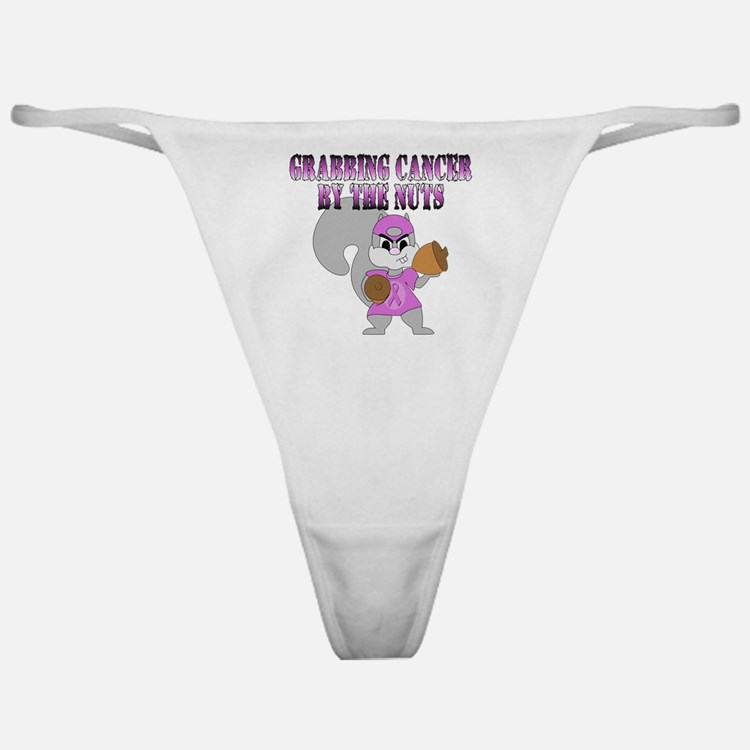 Grabbing cancer by the nuts Classic Thong