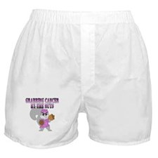 Grabbing cancer by the nuts Boxer Shorts