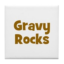 Gravy Rocks Tile Coaster