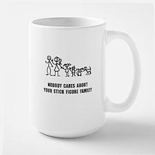 Anti Stick Figure Family Mug