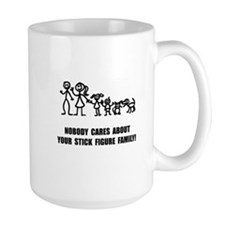 Anti Stick Figure Family Mug