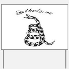 Gadsden don't tread on me Yard Sign
