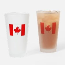 Flag of Canada Drinking Glass
