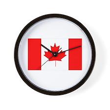 Flag of Canada Wall Clock