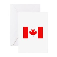 Flag of Canada Greeting Cards (Pk of 10)