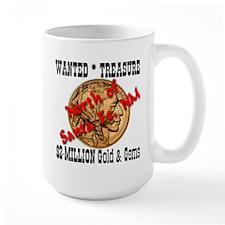 Wanted Treasure $2-Million Gold & Gems Mug