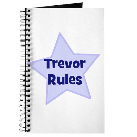 Trevor Rules Journal