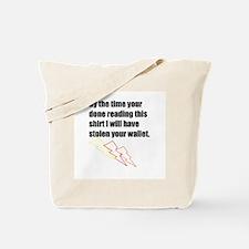 Thief at Large Tote Bag