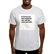 Thief at Large T-Shirt