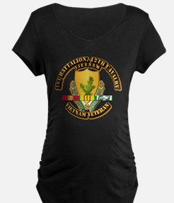 Army - 1-12th CAV w Vietnam SVC Ribbons T-Shirt