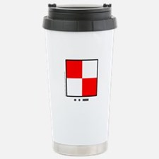 Uniform - You Are Running Into Danger Travel Mug
