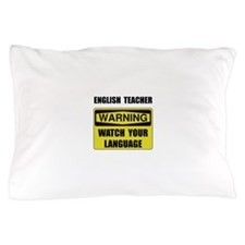 English Teacher Pillow Case