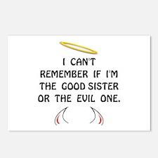 Good Evil Sister Postcards (Package of 8)