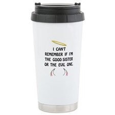 Good Evil Sister Travel Mug