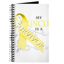 My Uncle is a Survivor (yellow) Journal