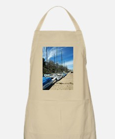 Hobie Cats Lined Up BBQ Apron