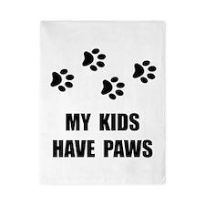 Kids Paws Twin Duvet