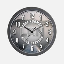 Lake Norman, NC Wall Clock