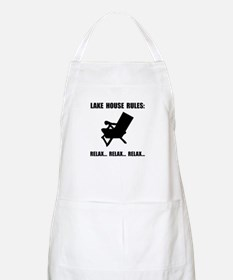 Lake House Rules Apron