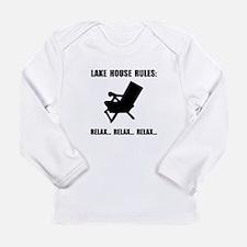 Lake House Rules Long Sleeve T-Shirt