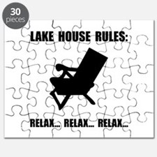 Lake House Rules Puzzle