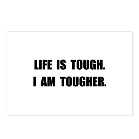 Life Tougher Postcards (Package of 8)