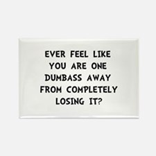 Losing It Rectangle Magnet (100 pack)
