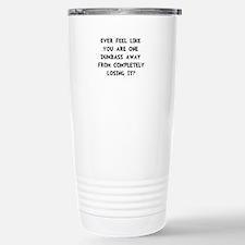 Losing It Travel Mug