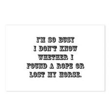 Lost My Horse Postcards (Package of 8)