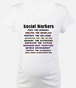 social workers work front Shirt