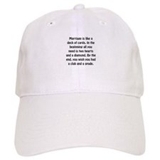 Marriage Cards Baseball Baseball Cap