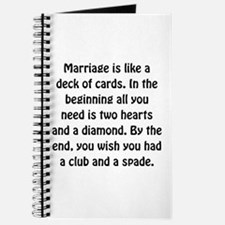 Marriage Cards Journal