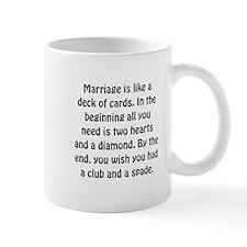 Marriage Cards Mug