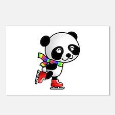Skating Panda Postcards (Package of 8)