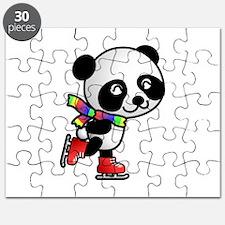 Skating Panda Puzzle
