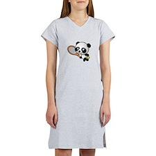 Tennis Panda Women's Nightshirt