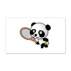 Tennis Panda Wall Decal