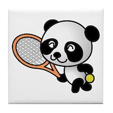 Tennis Panda Tile Coaster