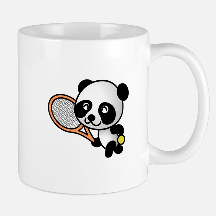 Tennis Panda Mug