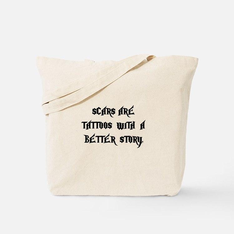 Scar Tattoos Tote Bag