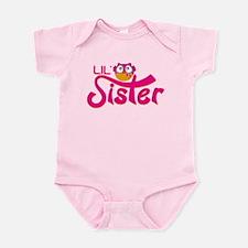 Lil sister Owl Infant Bodysuit
