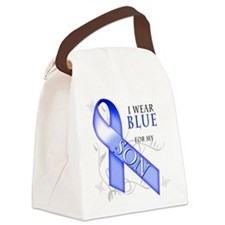 I Wear Blue for my Son.png Canvas Lunch Bag