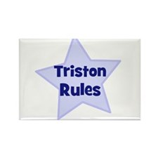 Triston Rules Rectangle Magnet