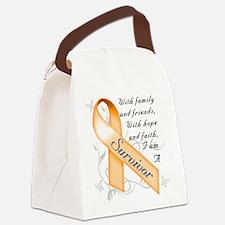 Leukemia Survivor Canvas Lunch Bag