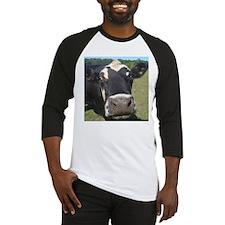 baldy cow Baseball Jersey